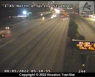 I-45 CLOSURE COULD LAST HOURS