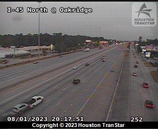 I-45 CRASH