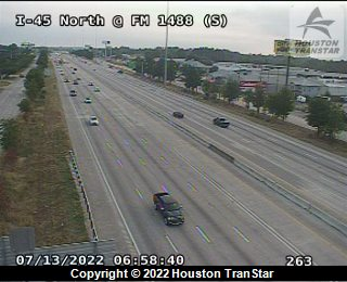 MAJOR ACCIDENT I-45 SOUTHBOUND AT 1488