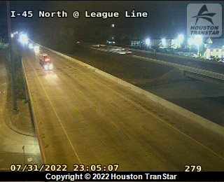 I-45 REMAINS CLOSED