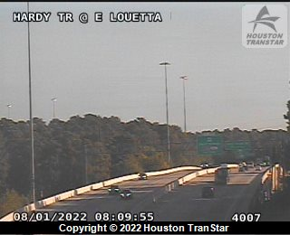 HARDY TOLL ROAD CLOSED SOUTHBOUND  AT I-45 NORTHBOUND VERY HEAVY
