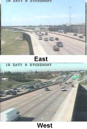 houston transtar roadway speed and travel time