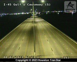 IH-45 Gulf at CAUSEWAY (N)