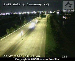 IH-45 Gulf at CAUSEWAY (W)