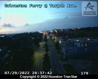 Galveston Ferry at Tarpon Ave