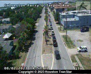 Galveston Ferry at Tarpon Ave