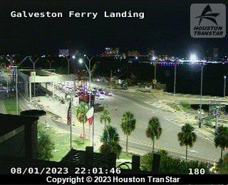 Galveston Ferry at Galveston Ferry Landing